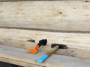 конопатка деревянного дома