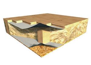 монтаж деревянного пола схема