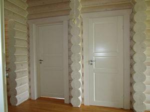 финские деревянные двери