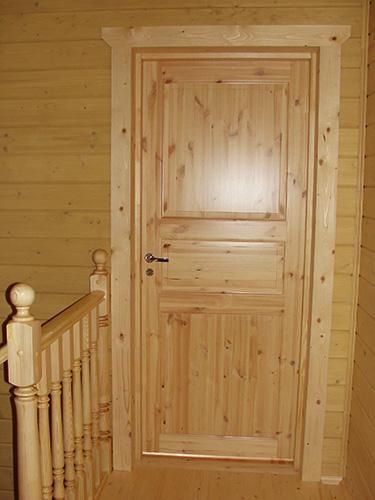 деревянная межкомнатная дверь фото