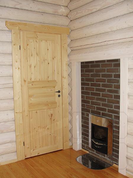 дверь деревянная филенчатая фото
