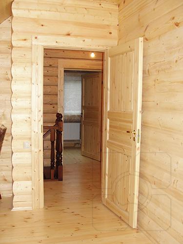 прямые деревянные наличники фото